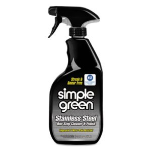 Stainless Steel 1 Step Cleaner 32-oz. Trigger Spray Bottles (SMP 18300CT)