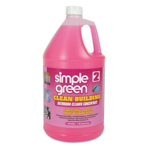 Simple Green Bathroom Cleaner Concentrate, 2 Gallons (SMP11101CT)