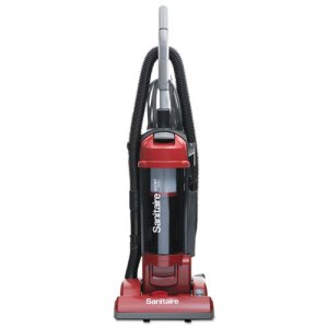 Sanitaire FORCE Bagless Upright Vacuum, Sealed HEPA, Red, Each (EURSC5745B)