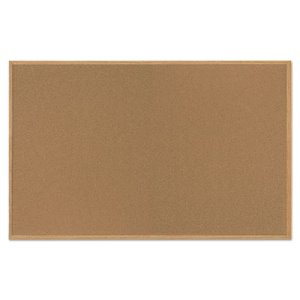 Mastervision Value Cork Bulletin Board with Oak Frame, 48 x 72, Natural (BVCSF352001239)