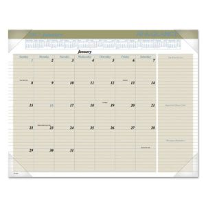 "At-a-glance Recycled Executive Desk Pad, 22"" x 17"", 2017 (AAGHT1500)"