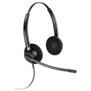Plantronics EncorePro 520 Binaural Over-the-Head Headset (PLNHW520)