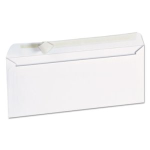 Universal Pull & Seal Business Envelope, #10, White, 100/Box (UNV36002)