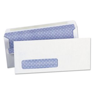Universal Self-Seal Business Envelope, Window, Security Tint, 500/Box (UNV36102)