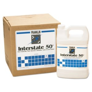 Interstate 50 Variable UHS Commercial Floor Wax, 5 Gallon Cube (FKLF195025)
