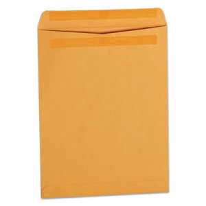 Universal Self-Stick File-Style Envelope, 13 x 10, Brown, 250 per Box (UNV35292)