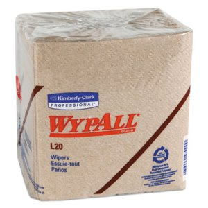 Wypall L20 All Purpose Wipes, Brown, 816 Wipes (KCC 47000)