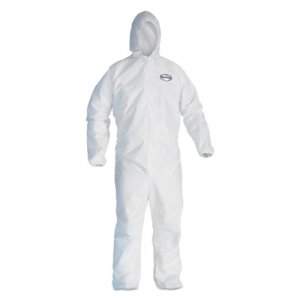 Kleenguard Hooded Liquid & Particle Protection Apparel, Large, 25 (KCC 44323)