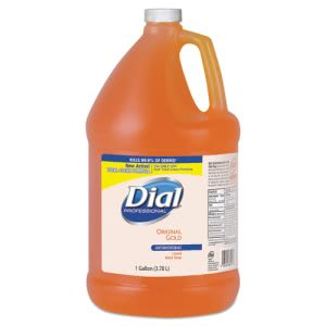 Dial Gold Antimicrobial Hand Soap, Floral, 4 Gallons (DIA88047CT)