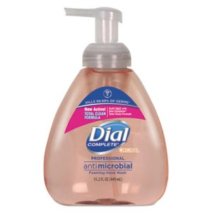 Dial Foaming Hand Wash, Original Formula, Fresh Scent, 4 - 15.2 oz (DIA98606)