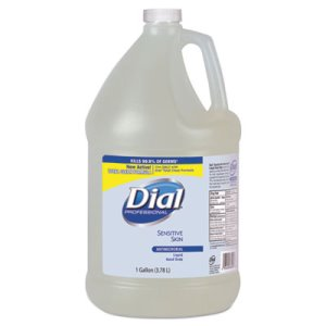 Dial Liquid Antimicrobial Soap for Sensitive Skin, Floral, 4 Gallons (DIA82838)