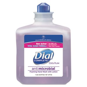 Dial Complete Antimicrobial Foaming Hand Soap, 4 Refills (DIA81033CT)