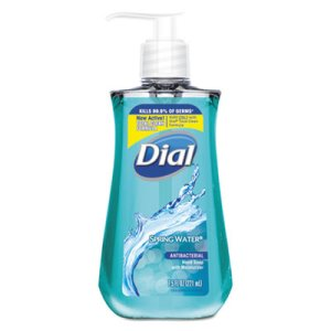 Dial Spring Water Antibacterial Liquid Hand Soap, 7.5 oz Bottle (DIA02670EA)