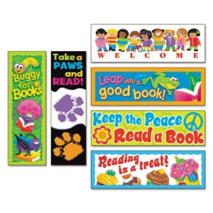 Trend Bookmark Combo Packs, Celebrate Reading Variety, 216 Bookmarks (TEPT12906)