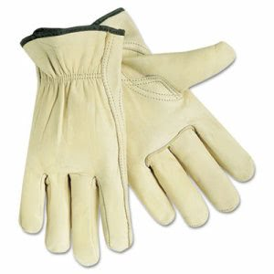 Memphis Full Leather Cow Grain Gloves, Extra Large, 1 Pair (CRW3211XL)
