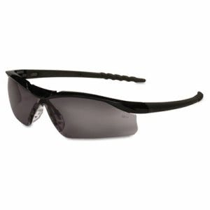 Dallas Plus Safety Glasses - Black, Gray Lens, 1 Each (MCR DL112)