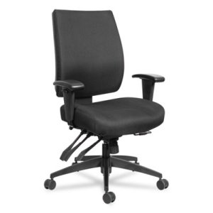 Alera Wrigley 24/7 High Performance Multifunction Chair, Black (ALEHPT4201)
