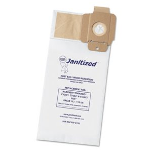 Janitized Bags For Karcher/Tornado Vacuums, 100 Bags (APCJANKACV302)