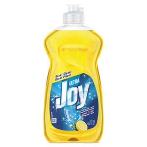 Joy Dishwashing Liquid, 12.6 oz bottle, Lemon Scent, 25 Bottles (PGC00614)