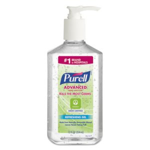 Purell 369112 Green Certified Hand Sanitizer, 12 Pump Bottles (GOJ369112CT)