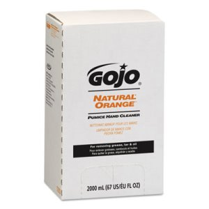 Gojo Natural Orange Pumice Hand Cleaner, 2000ml, 4 Refills (GOJ7255)