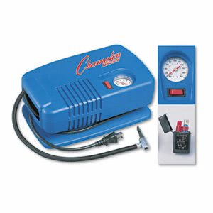 Champion Sports Inflating Pump w/Gauge, Hose & Needle, Compressor (CSIEP1500)