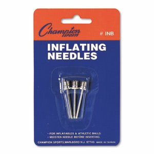 Champion Inflating Needles for Electric Inflating Pump, 3 Needles (CSIINB)