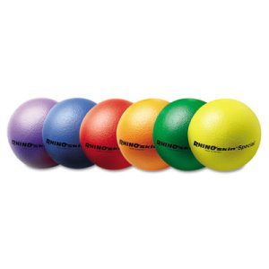 "Champion Sports Rhino Skin Ball Sets, 8-1/2"", 6 Balls (CSIRS85SET)"