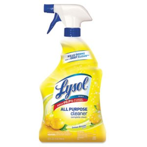 Lysol All-Purpose Cleaner, Lemon, 32-oz. Spray Bottle (RAC75352EA)