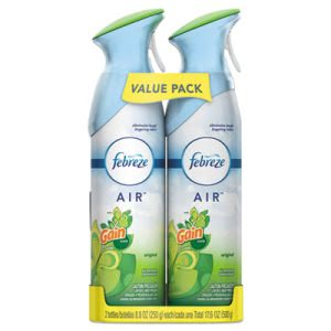 Febreze Air Effects, Gain Original, 8.8-oz Aerosol, 2/Pack (PGC97810PK)