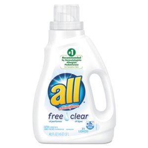 ALL Free & Clear HE Liquid Laundry Detergent, 50-oz. Bottle (SNP197004900)