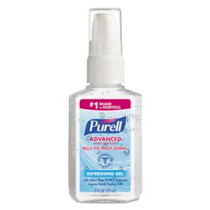 Purell Advanced Instant Hand Sanitizer, 24 - 2 oz Pump Bottles (GOJ 9606-24)