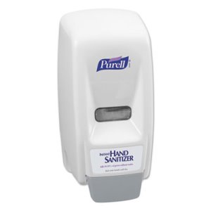 Purell Bag-In-Box 800 mL Hand Sanitizer Dispenser, White/Gray (GOJ 9621)