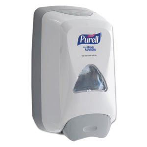 Purell FMX-12 Foaming Hand Sanitizer Dispenser, White/Gray (GOJ 5120-06)