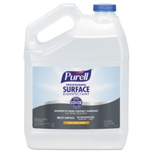 Purell Professional Surface Disinfectant, Citrus, 1 gal Bottle (GOJ434204EA)