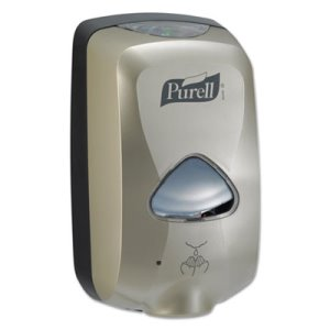 Purell TFX Touch-Free 1200ml Hand Sanitizer Dispenser, Nickel (GOJ 2780-12)