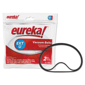 Eureka AirSpeed and Sanitaire Vacuum Replacement Belt Pack 2 Belts (EUR61120G12)