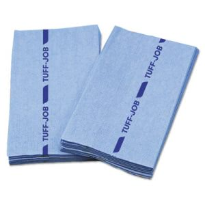 Cascades Antimicrobial Foodservice Towels, Blue, 12 x 24, 150 Towels (CSDW920)