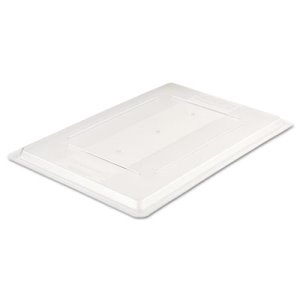 Rubbermaid Commercial Food/Tote Box Lids, 26w x 18d, Clear (RCP3302CLE)