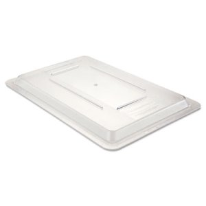 "Rubbermaid 3310 Clear Food Box Lid, 18"" x 12"", 1 Each (RCP 3310 CLE)"