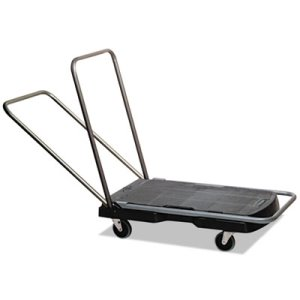 Rubbermaid 4400 Triple Trolley Utility Cart, 250-lb. Capacity (RCP 4400 BLA)
