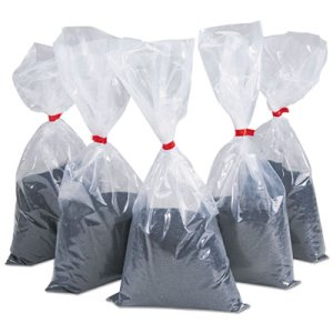 Rubbermaid B25 Black Silica Sand, For Smoking Urns, 5Lb Bags, 5 Bags (RCP B25)