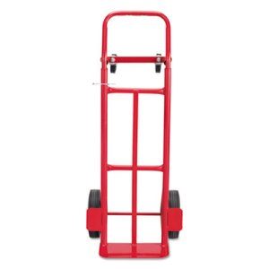 Safco 2-Way Convertible Hand Truck, 500-600lb Capacity, 18w x 51h (SAF4086R)