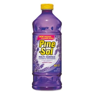 Pine-Sol Lavender Scent Multi-Surface Cleaner Deodorizer, 8 Bottles (CLO 40272)