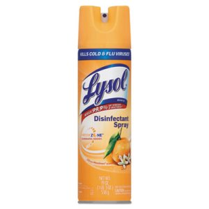 Lysol Brand Disinfectant Spray, Citrus Meadow Scent, 19oz Aerosol (RAC81546CT)
