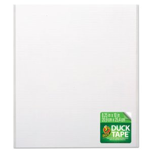 Duck Tape Sheets, White, 6/Pack (DUC282713)