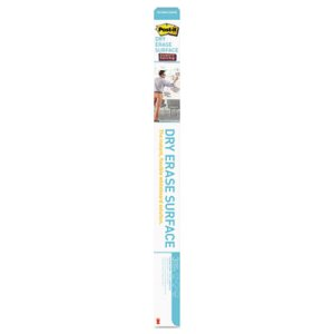 Post-it Dry Erase Film with Adhesive Backing, 96 x 48, White (MMMDEF8X4)