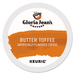 Gloria Jean's Butter Toffee Coffee K-Cups, 24/Box (DIE60051012)