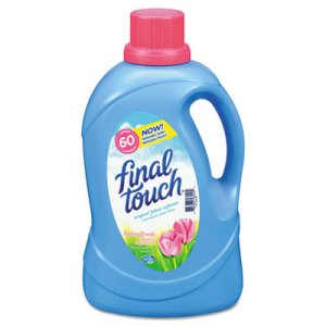 Final Touch Liquid Fabric Softener, 4 Bottles (PBC58420CT)