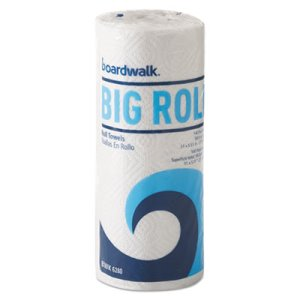 Boardwalk 6280 Kitchen 2-Ply Paper Towel Rolls, 12 Rolls (BWK6280)